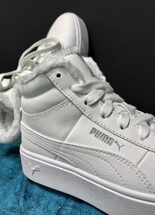 Оригинальные зимние ботинки puma