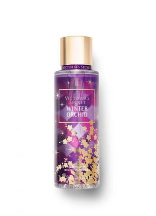 Спрей для тела winter orchid из серии scents of holiday  victoria's secret виктория сикрет