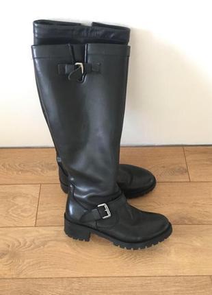 Сапоги ботинки сапожки кожа зима срочно!!