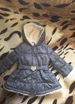 Фирменная тёплая куртка