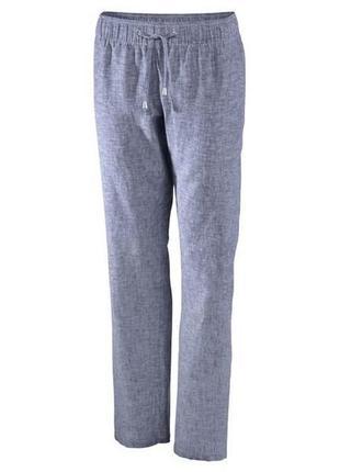 Льняные штаны esmara