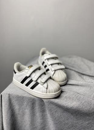 Крутые детские кроссовки adidas superstar