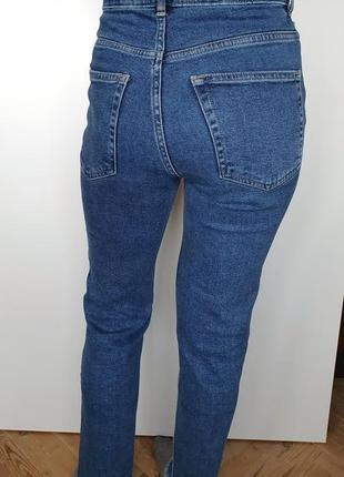 Винтажные джинсы mom slim мом мам высокая талия посадка винтаж h&m