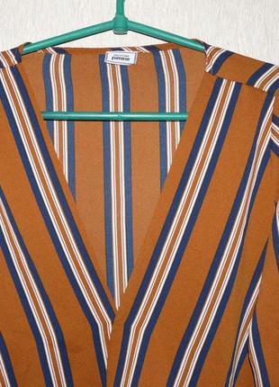 Актуальная блузка в полоску, на запах от pimkie2 фото