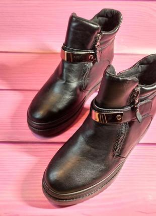 Ботинки женские сникерсы из искусственной кожи и с двумя змейками