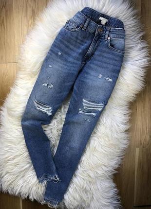 Джинсы джинси h&m mom