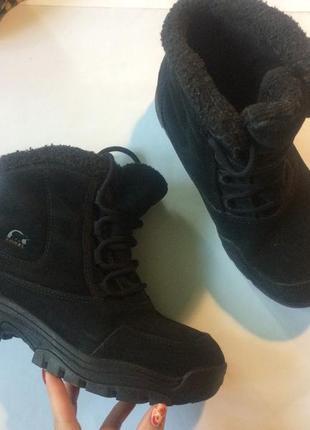 Зимние ботинки sorel оригинал 38 натуральная кожа