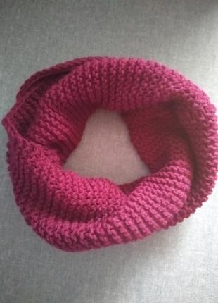 Sale‼️‼️очень крутой и теплый вязанный шарф/хомут