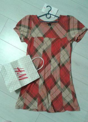 Мини платье h&m
