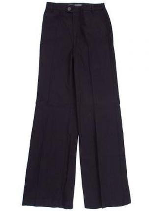 Актуальные широкие брюки mango высокая посадка палаццо