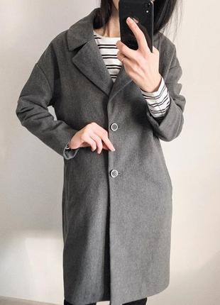 Шикарное бойфренд пальто