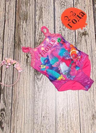 Фирменный купальник для девочки 2-3 года, 92-98 см