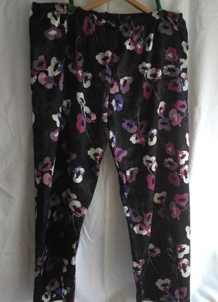 Хорошие фирменные атласные пижамные  женские брюки (made in sri lanka )