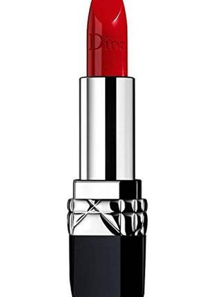 Роскошная помада christian dior rouge dior couture colour #999/ оригинал