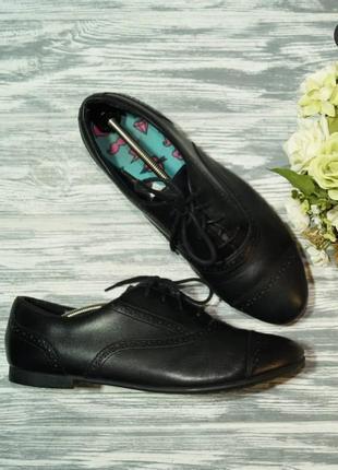 🌿41🌿европа🇪🇺 clarks. кожа. комфортные туфли, оксфорды