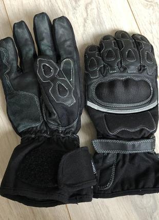 Мотоперчатки защитные kevlar утеплитель thinsulate кожа