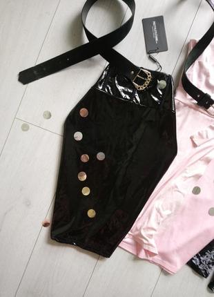 Новая лаковая , лакированная юбка в обтяжку