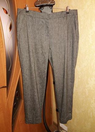 Льняные штаны 16 размера white label