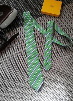 Шелковый галстук #hugo boss #оригинал