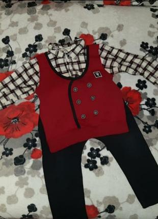 Sale,‼️‼️теплый костюм на мальчика 1-2года