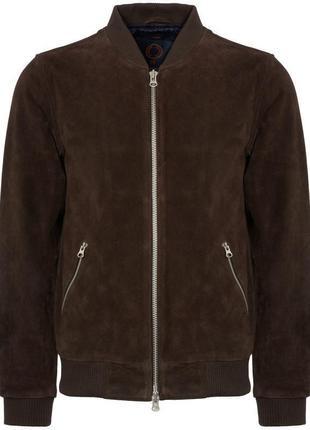 Утепленная куртка/натуральная замша