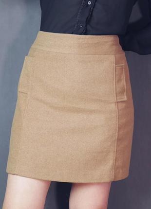 Теплая юбка (большой размер)