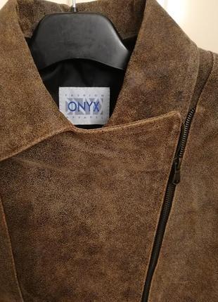 Куртка кожаная onyx