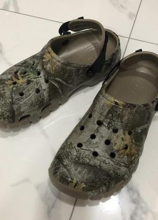 Камуфляжные кроксы crocs off road m12 м12