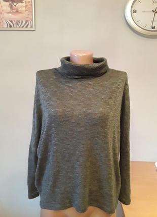 Интересный меланжевый свитерок