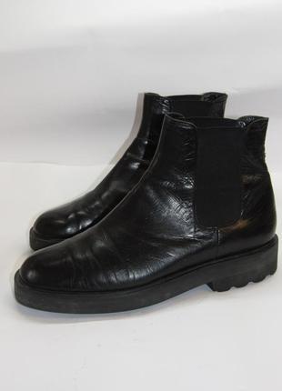 Stephane kelian франция кожаные ботинки челси унисекс  b4