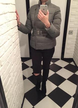 Куртка ватник пуховик косуха  cortefiel