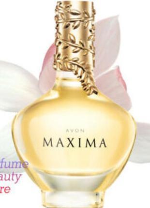 Женская парфюмерная вода avon maxima эйвон максима 50 мл