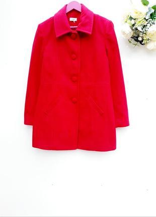Яркое пальто демисезонное пальто весна осень красивое пальтишко