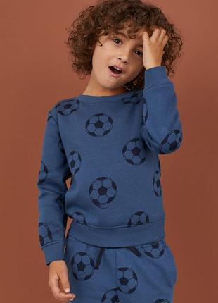 Кофта свитер свитшот h&m 2-3-4 года 98-104 см