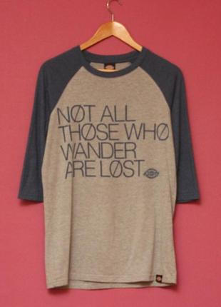 """Dickies m реглан dickies """"not all who wander are lost"""""""