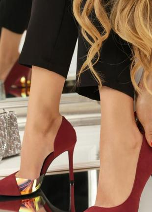 Нарядні, яркі туфлі
