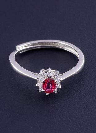 Кольцо рубин 1,6 г. 0465600
