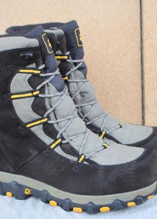 Зимние ботинки jack wolfskin замша германия оригинал 45р непромокаемые