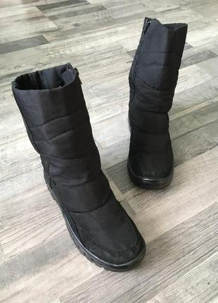 Дутики ботинки ботики обувь зимняя