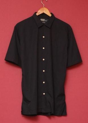 Polo ralph lauren m-l рубашка из хлопка на короткий рукав