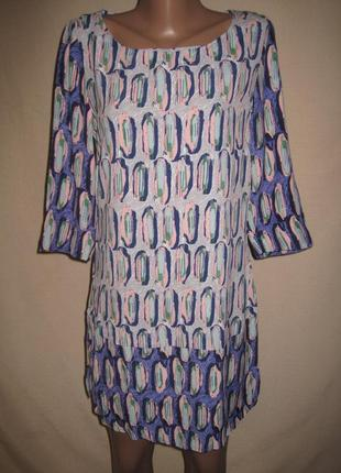Вискозное платье white stuff р-р 8