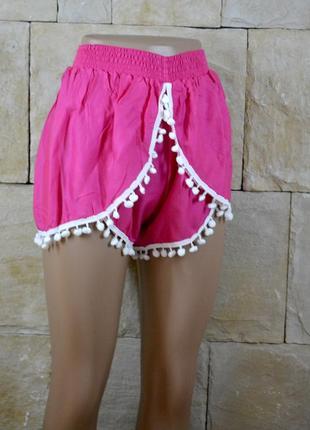 Акция 1+1=3! новые натуральные шорты от krishna магазина на бали