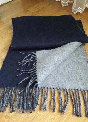 Уютный шарф кашемир/шерсть monoukian.