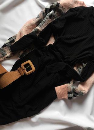 Базова сукні міді в рубчик  boohoo 14/42, l/xl