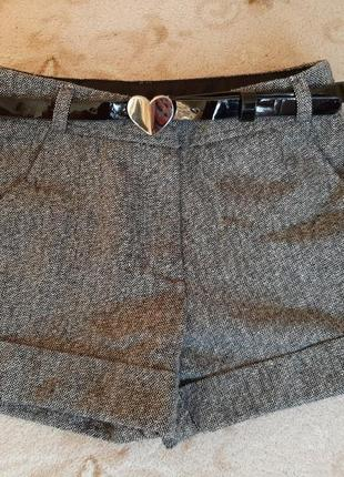 Классные тепленькие шорты george