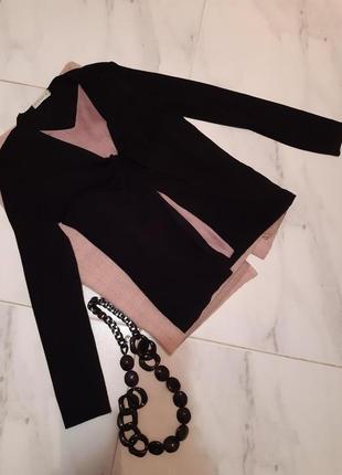 Роскошная кофта/ нарядный кардиган/ трикотажная черная блуза