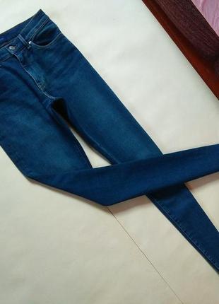 Брендовые джинсы скинни с высокой талией gant, 10 pазмер.