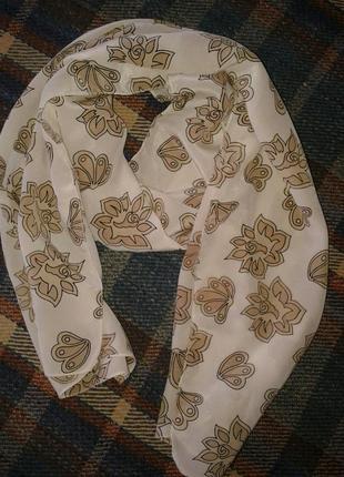 Шелковый нежный шарфик,