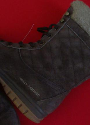 Сапоги ботинки helly hansen оригинал натур замша 37-38 разм