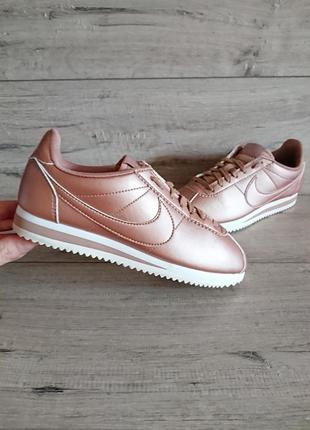 Кроссовки найк nike classic cortez metallic red bronze 36р  оригинал